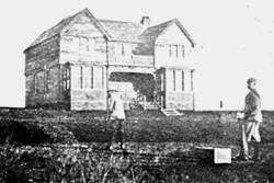 Western Gailes Clubhouse 1897