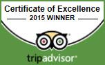 Royal Golf Hotel Dornoch - TripAdvisor Certificate of Excellence 2015 Winner